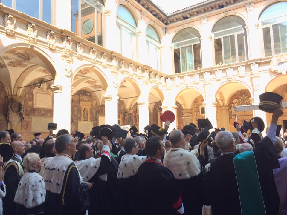 Bolognadeklarationen firas av rektorer